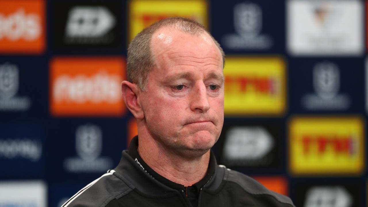 Wests Tigers head coach Michael Maguire