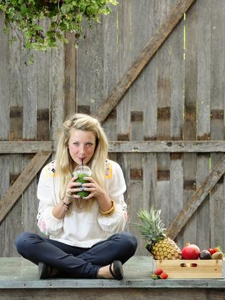 Nutritionist Lola Berry believes in dropping the guilts. Picture: John Appleyard