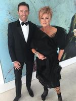 "Hugh Jackman and Deborra-Lee Furness ... ""We're just going out for a walk ..... #metgala #redcarpet"" Picture: @thehughjackman/Instagram"