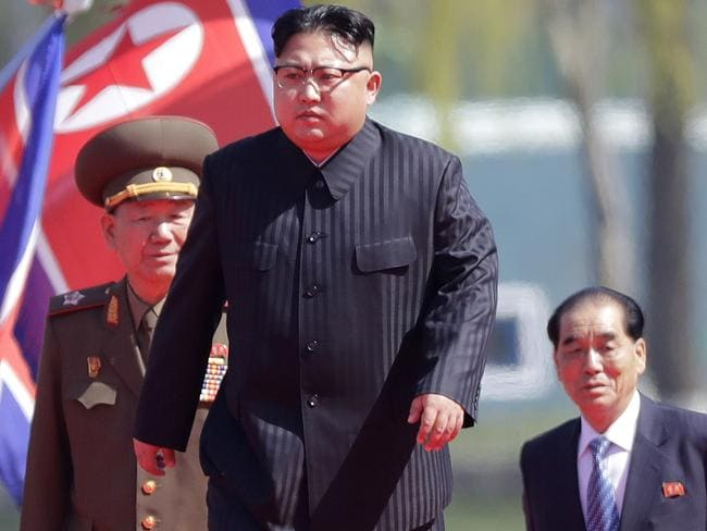 South Korea is holding an emergency national security meeting after North Korea fired a ballistic missile. Picture: AP