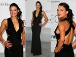 Michelle Rodriguez attends amfAR's 21st Cinema Against AIDS Gala. Picture: Getty