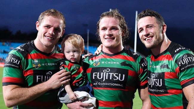 South Sydney's Burgess brothers. Picture: Getty Images