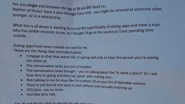 Reddit: Woman's list dating criteria slammed as toxic