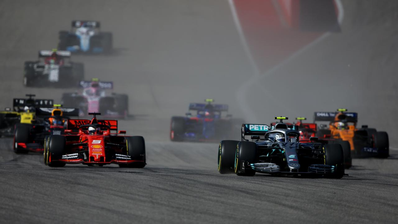 Formula One has set out its first sustainability plan. Picture: Charles Coates