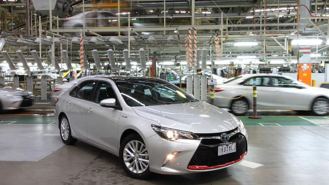 Toyota Australia Workers Farewell Camry Factory