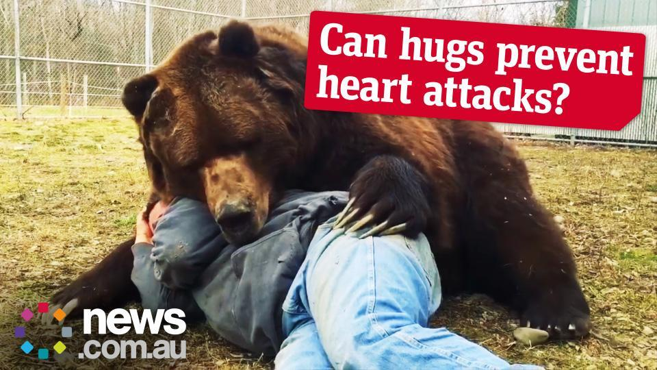 Can Hugs Help Keep You Healthy?
