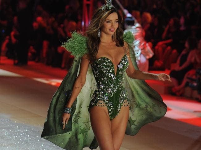 Secret's out ... Justin Bieber performed at the 2012 Victoria's Secret Fashion Show where Miranda Kerr took to the catwalk.