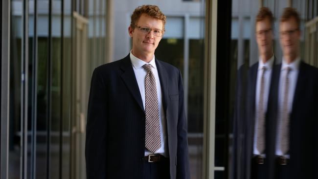 Joel Gibson, Campaign Director of One Big Swith gave evidence at The Senate economics reference committee public hearing relating to credit card interest rates being held at Portside Centre, Sydney.