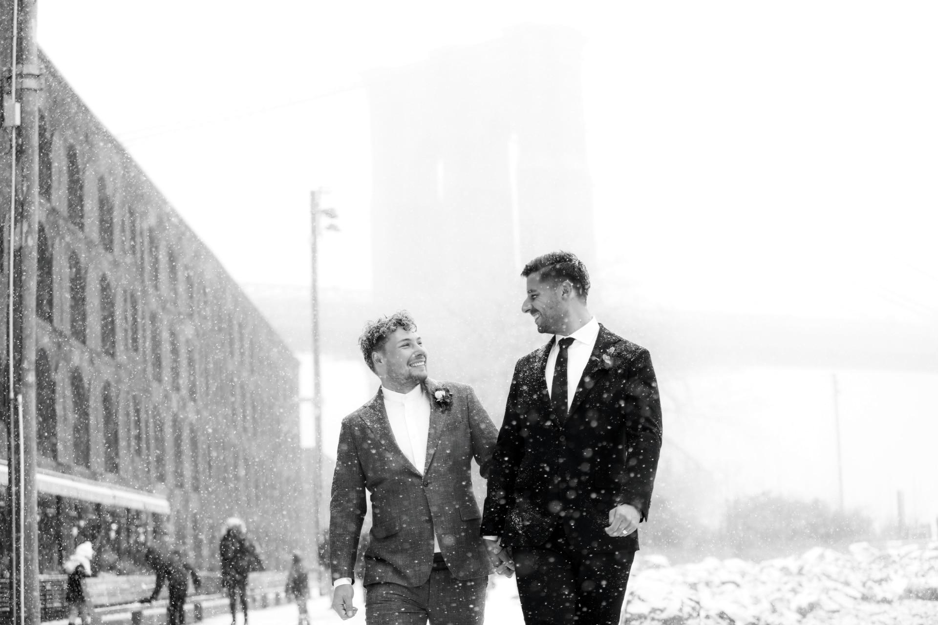 Inside a magical New York winter wedding