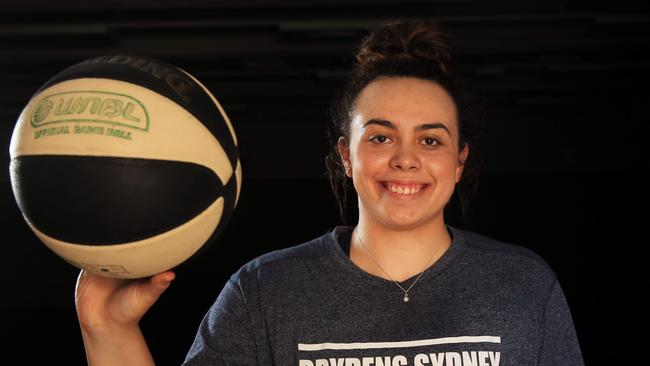 Sydney Flames point guard Tahlia Tupaea was named in the Opals squad last week.