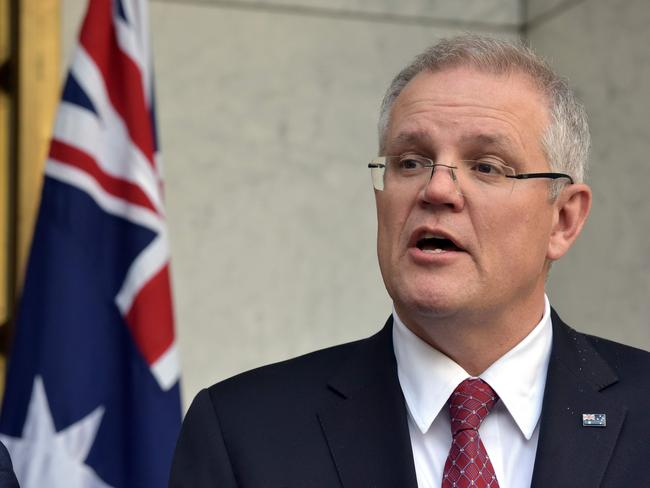 Scott Morrison has been voted as Australia's next prime minister. Picture: Mark Graham/AFP