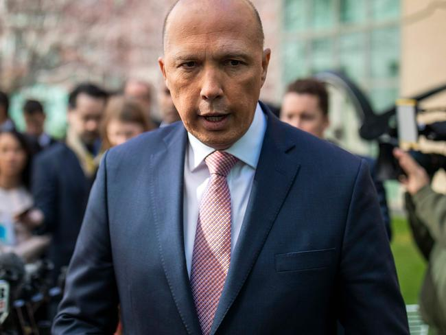 Peter Dutton is expected to challenge again. Picture: Sean Davey / AFP