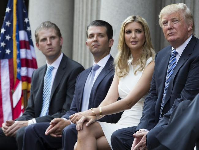 Robert Mueller has asked a German bank to look at account information of Donald Trump and his family. Picture: AP