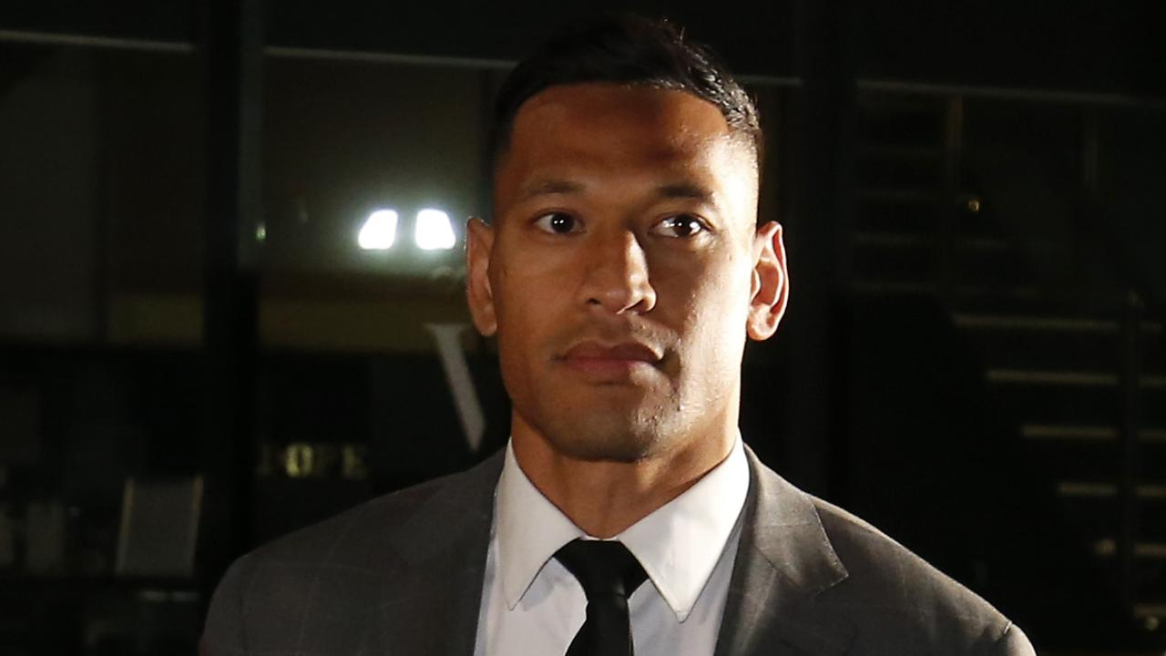Twitter reacts to the settlement between Israel Folau and Rugby Australia.