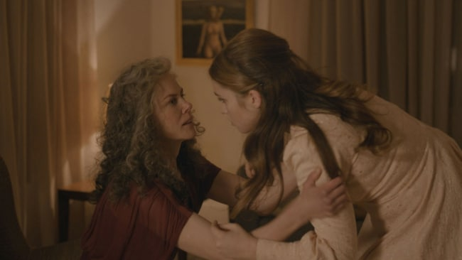 Nicole Kidman and Alice Englert. Photo: BBC First