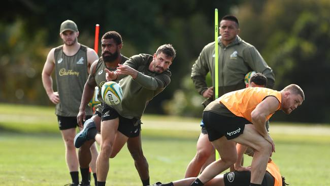 Jake Gordon is back training with the Wallabies after recovering from a MCL injury. Photo: Getty Images