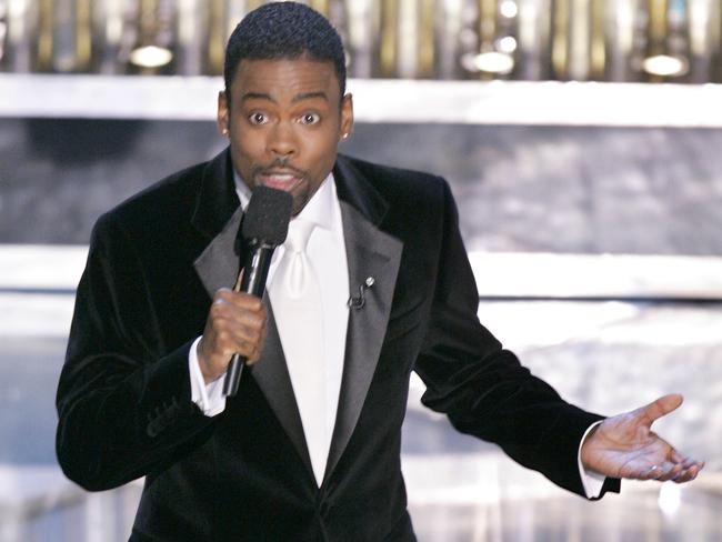 Chris Rock, hosting the 77th Academy Awards telecast, returns this year.
