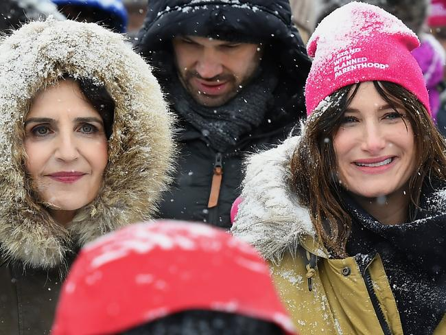 Actress Kathryn Hahn attends Respect Rally Park City in Utah. Picture: AFP
