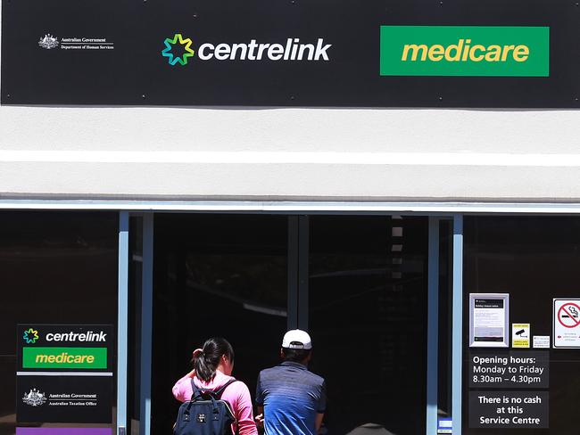 Centrelink has tweeted the Lifeline phone number after several of the vulnerable Australians affected said they were suicidal.