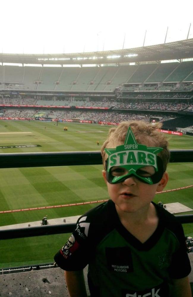 Jordan Baker has become a mad Melbourne Stars fan.