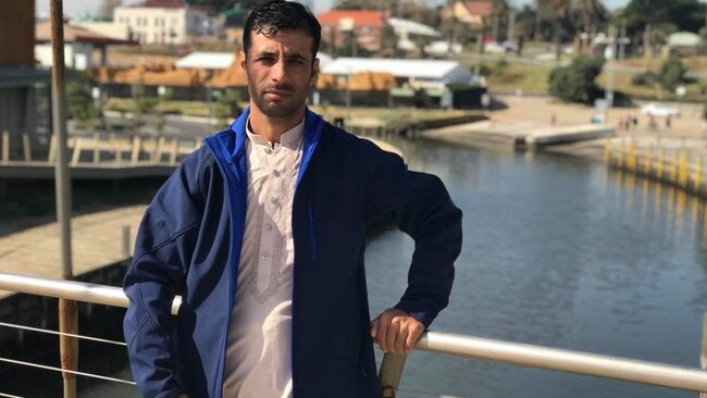 Ibrahim Hotak was allegedly murdered in SA's outback. His body was found about 100km east of the Nullarbor Roadhouse. Picture: Facebook