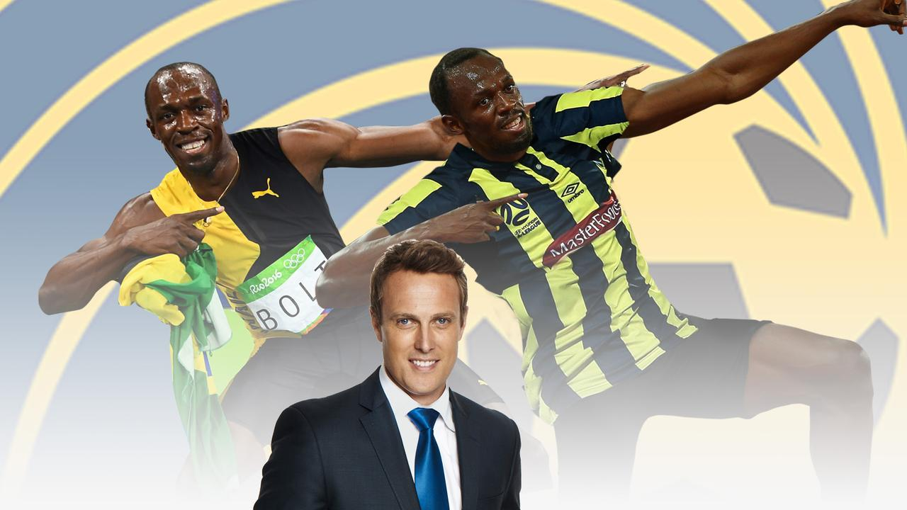 Matt Shirvington believes Usain Bolt's transition is the hardest world sport has ever seen