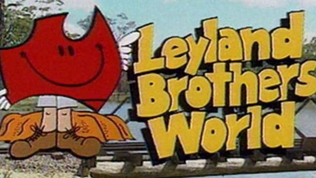 The old Leyland Brothers World TV commercial. Picture: Supplied