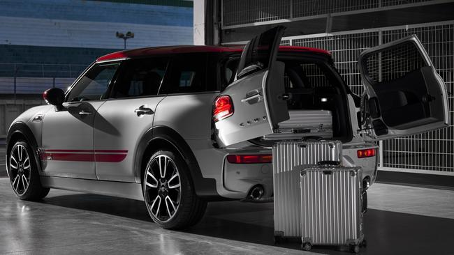 Mini Clubman is known for its rear barn doors.