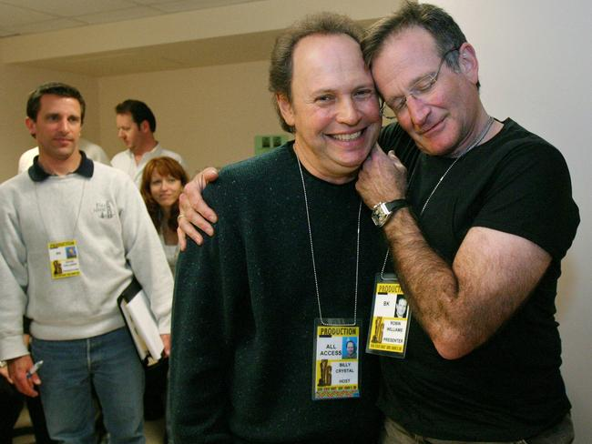 Good friends ... Billy Crystal will pay tribute to Robin Williams during the Emmy Awards ceremony.