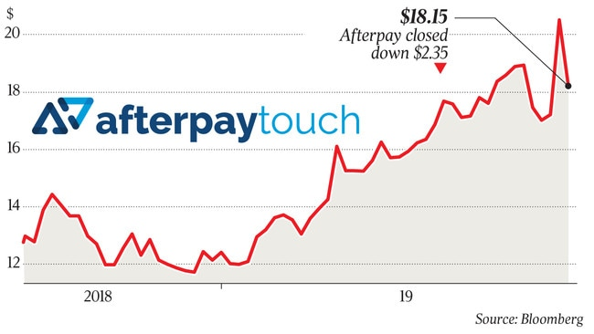 Afterpay to 'lead way' on regulation