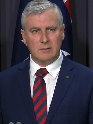 Federal Minister for Small Business Michael McCormack. Picture: Adrian Muscat