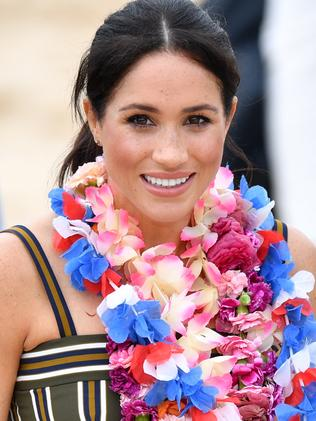 The last time Meghan stepped out in the frock was in Bondi. Picture: AAP Image/Joel Carrett