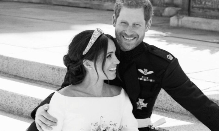 Gorgeous new pictures released of Harry and Meghan's wedding day