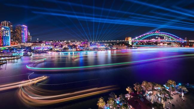 Opera million people visited Vivid this year. Picture: Supplied