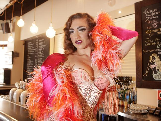 Surry Hills resident Lillian Starr is a part of Bent Burlesque. Picture: Supplied