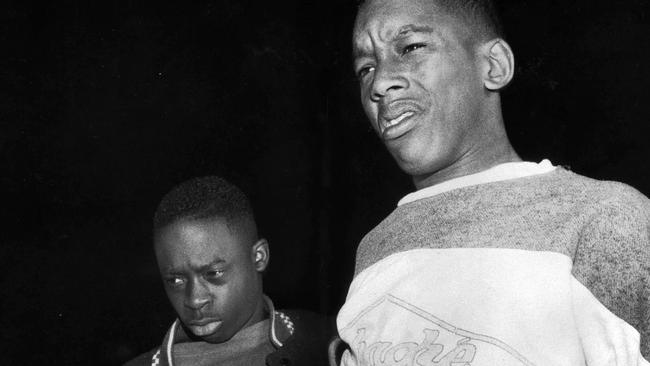 Antron McCray, 15, and Kharey Wise, 16, — two of the accused — in 1989.