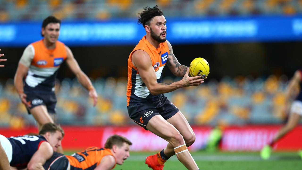 Williams is likely to join Carlton or North Melbourne. Photo: Jono Searle/AFL Photos/via Getty Images.