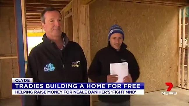 Home built free of charge for Neale's Fight MND