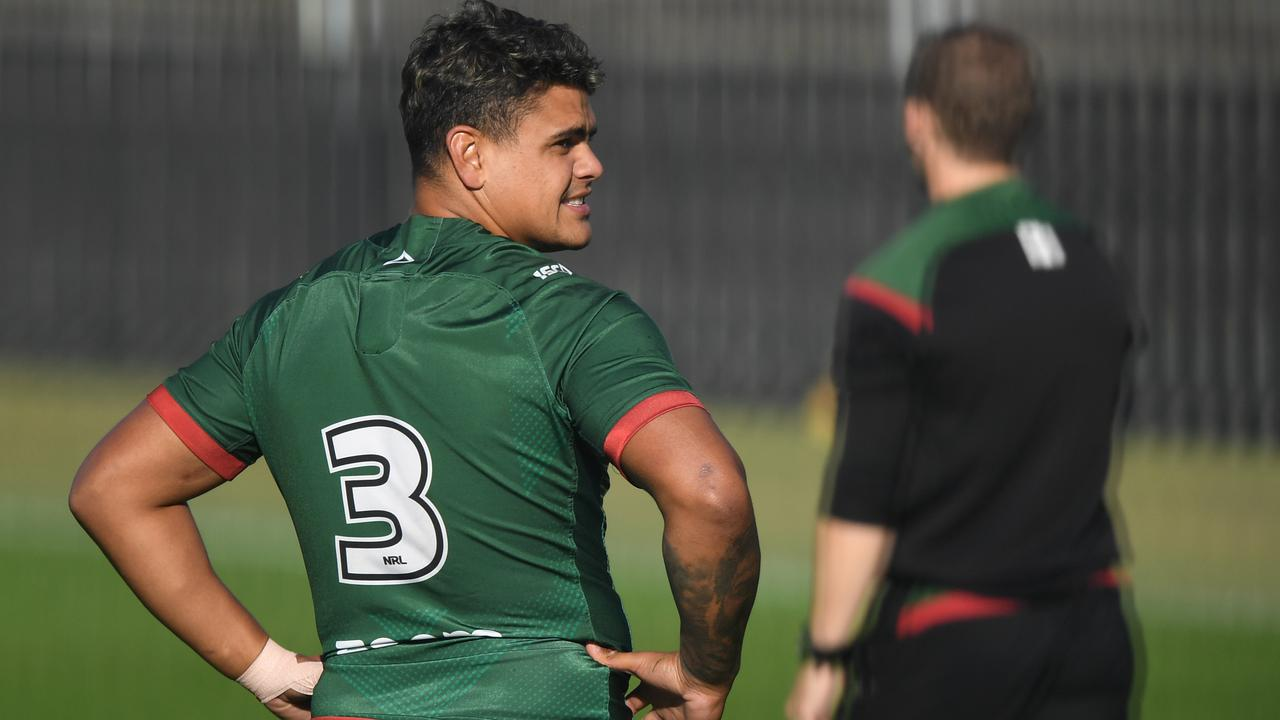 The fullback wore the number 3 at the Bunnies' first hit-out.