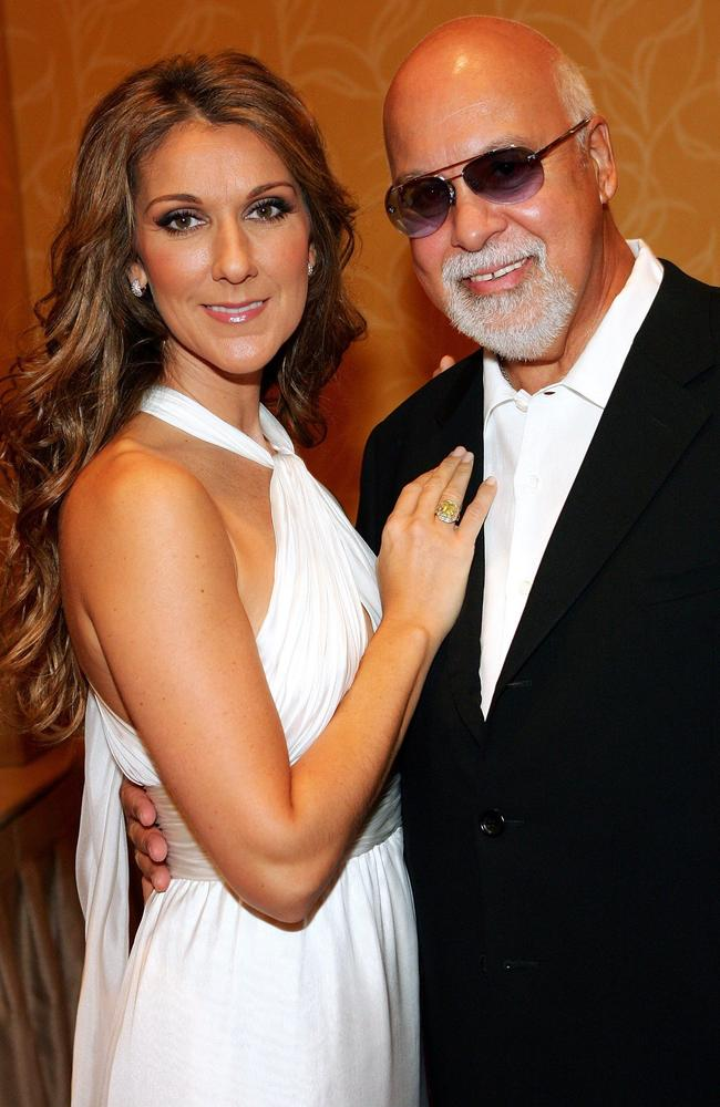 Dion lost husband Rene Angelil in 2016. Picture: Ethan Miller/Getty