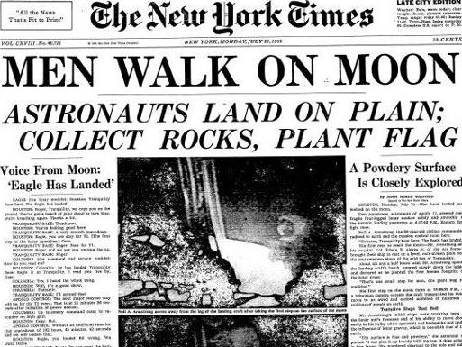 The Moon landing was the big news story of its time, including the importance of the rocks collected from the planet but few realised an Australian played a key role. Picture: Supplied