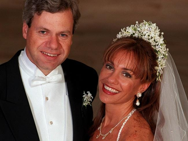Her high profile marriage to Michael Kroger lasted 10 years.