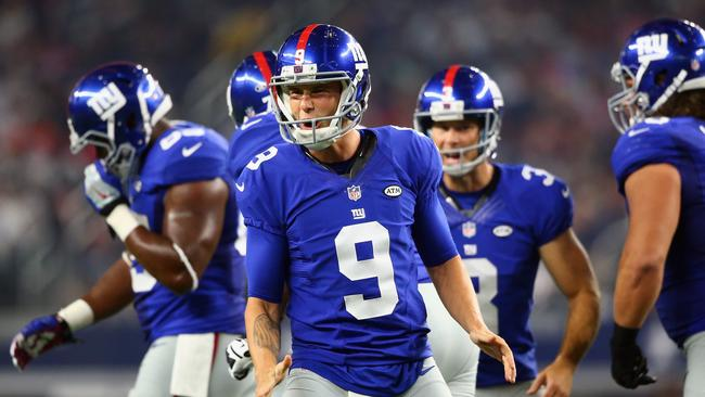 Brad Wing has been earning joking 'MVP' plaudits from Giants fans.