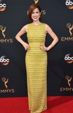 Ellie Kemper attends the 68th Annual Primetime Emmy Awards on September 18, 2016 in Los Angeles, California. Picture: AP
