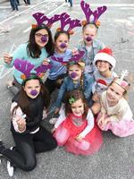 Lola 10, Ava 10, Emily 7, Erin 10. Taylor 10 (front). Millie, 3, Chloe, 4 and Billy, 6. Photo Naomi Jellicoe