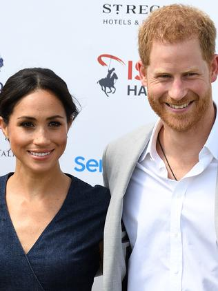 The newly-named Duke and Duchess of Sussex. Picture: MEGA