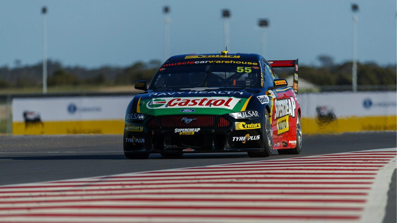 Mostert claims his second pole of the season at The Bend.