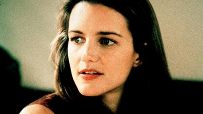 Kristin Davis in the first season of Sex and the City.