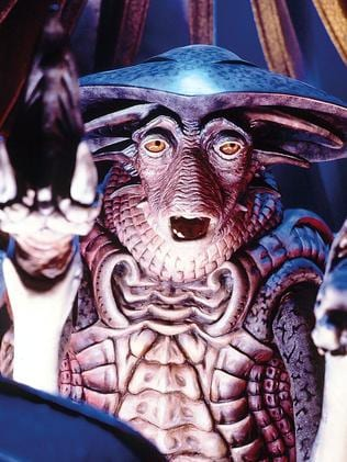 Next in line? The intelligence of the squid demonstrates the diversity we should expect of alien life. Here is the character Pilot from Farscape.