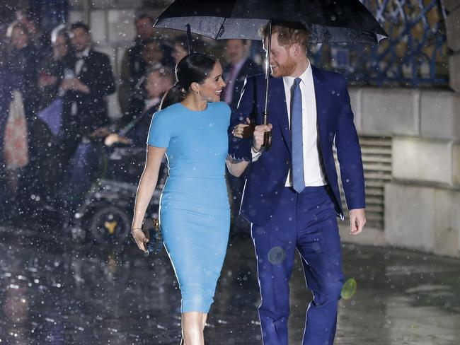 Nothing was going to rain on their parade. Picture: Kirsty Wigglesworth
